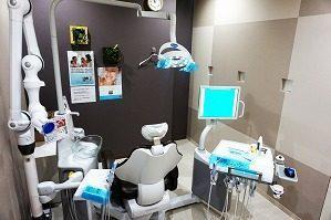 さっぽろプロケア歯科クリニックの診察室