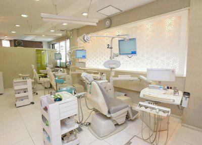 丸山デンタルクリニックの診療スペース
